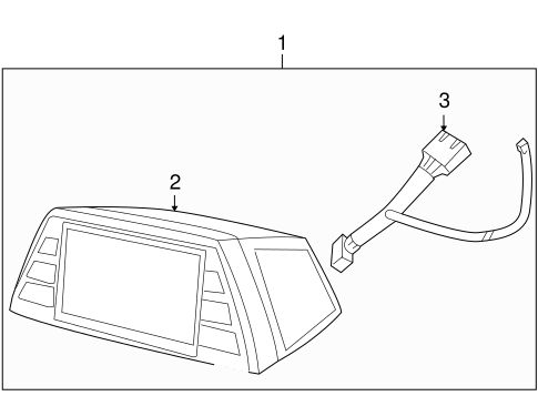 Navigation System Components for 2008 Chrysler PT Cruiser