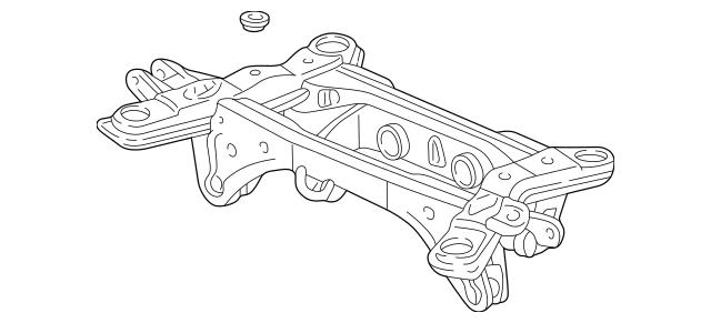 2001-2006 Acura MDX 5-DOOR Sub-Frame, Rear Suspension