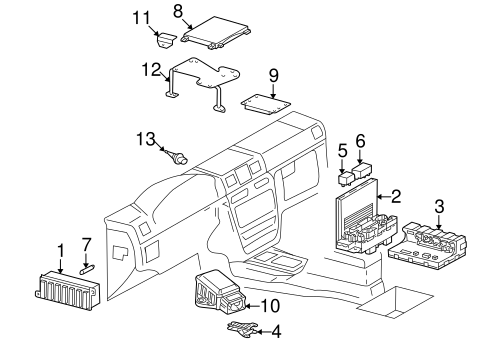 Electrical Components for 2002 Mercedes-Benz G 500