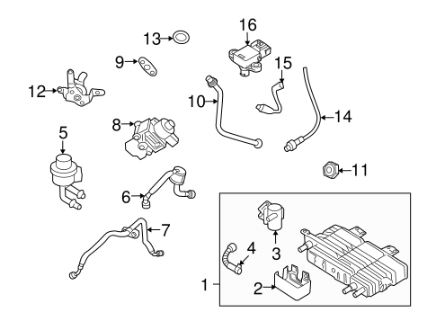POWERTRAIN CONTROL for 2011 Ford Fusion