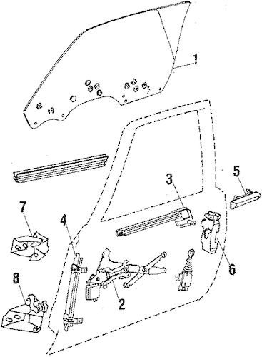 1986 Oldsmobile 3 8 Engine Diagram