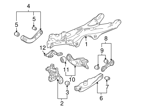 Wiring Diagram Database: Pontiac G6 Rear Suspension Diagram