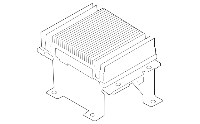 Genuine OEM Amplifier Part# 96370-3W500 Fits 2011-2013 Kia