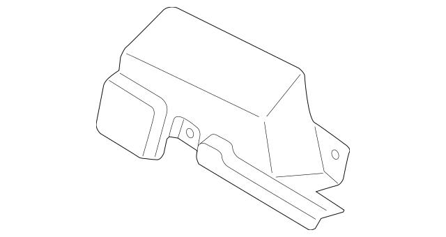 2015-2019 Hyundai Sonata Gear Assembly Heat Shield 57280