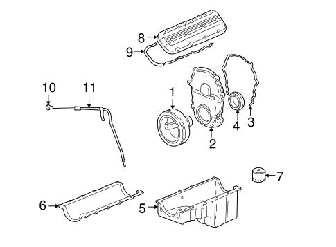 Engine Parts for 2001 Chevrolet Silverado 3500