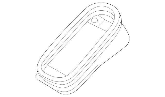 2015-2018 Porsche Macan Filter Cover 95B-129-752-B