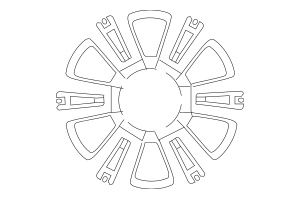 2018-2019 Toyota Sequoia Wheel, Alloy 42611-0C270