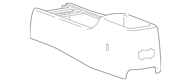Genuine OEM Console Part# 84611-3C010GJ Fits 2003-2004 Kia