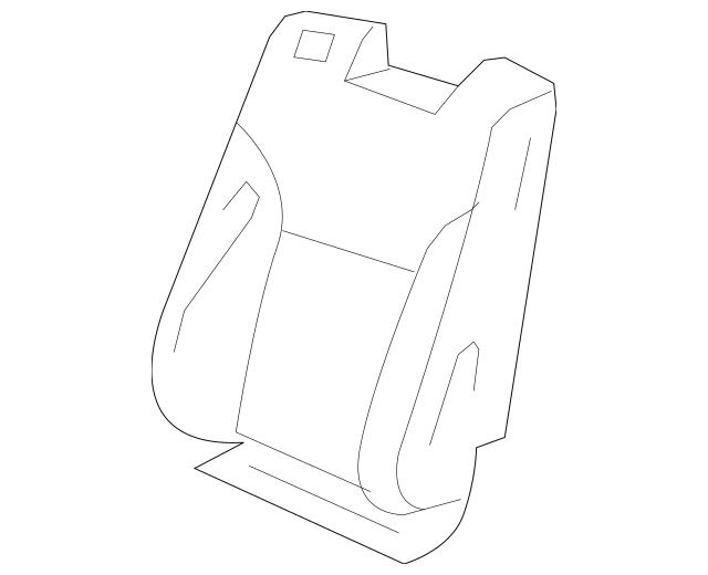 2009-2011 Honda ELEMENT 5-DOOR Cover Set, R Trim *YR233L