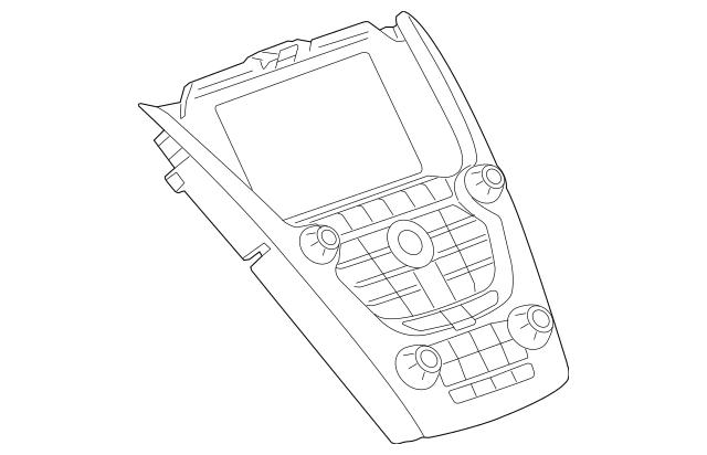 2012-2015 Chevrolet Equinox Control Panel 84096699