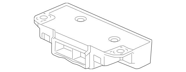 2007-2008 Honda ELEMENT 5-DOOR Receiver Unit, TPMS 39350