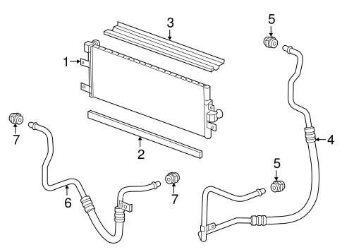 OEM 2016 Chevrolet Spark EV Trans Oil Cooler Parts