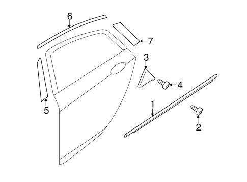 2012 Hyundai Sonata Parts Diagram