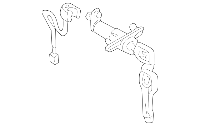 Genuine OEM Lock Cylinder Part# MR439806 Fits 1999-2003