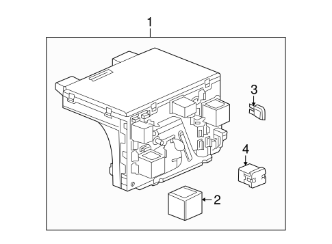 OEM ELECTRICAL COMPONENTS for 2004 Saturn Ion