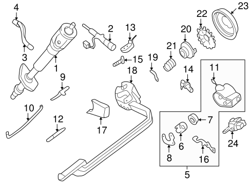 OEM Housing & Components for 1994 Chevrolet S10
