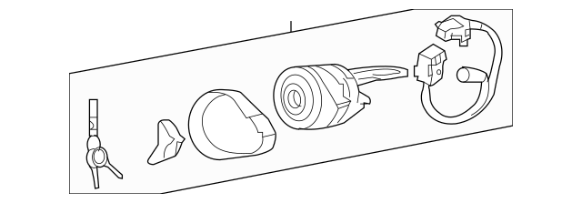 2008-2011 Hyundai Azera Ignition Lock Cylinder 81920-3LC50