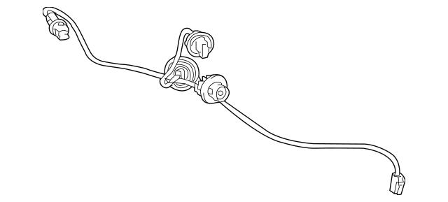 Genuine OEM Socket & Wire Part# 81555-33670 Fits 2018-2019
