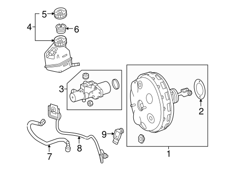 Hydraulic System for 2010 Mercedes-Benz E 63 AMG