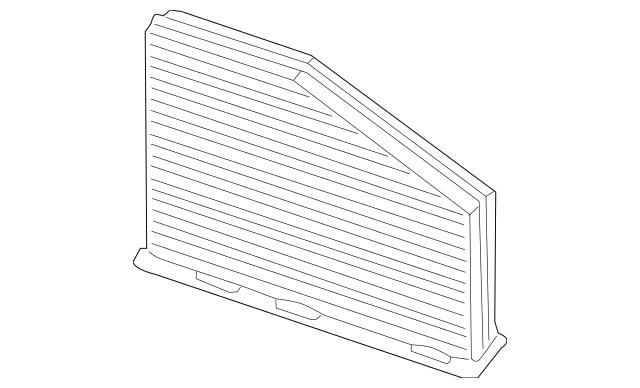 Genuine OEM Cabin Air Filter Part# 1K1-819-653-B Fits 2006