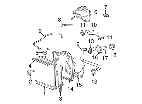 3 1 Liter Gm Engine Diagram Thermostat