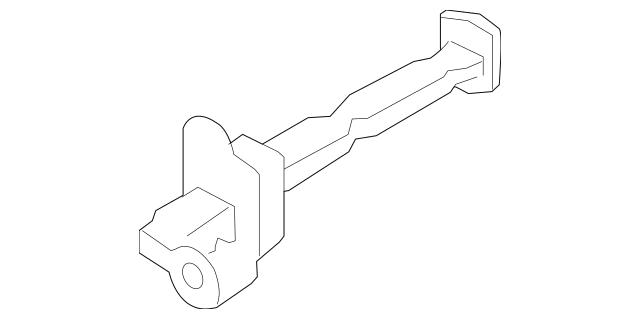 2014-2019 Nissan Versa Note Door Check 80430-3VA0B