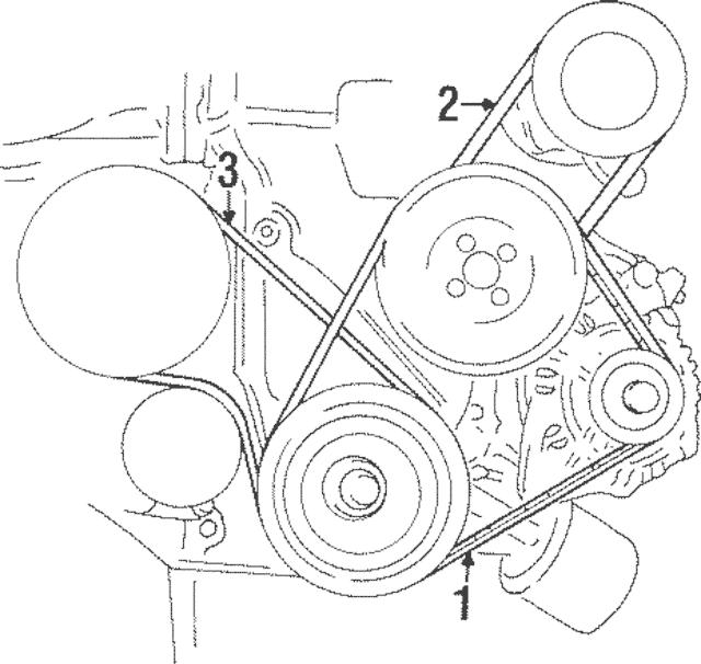 1991-2011 Hyundai Power Steering BELT 57231-29100
