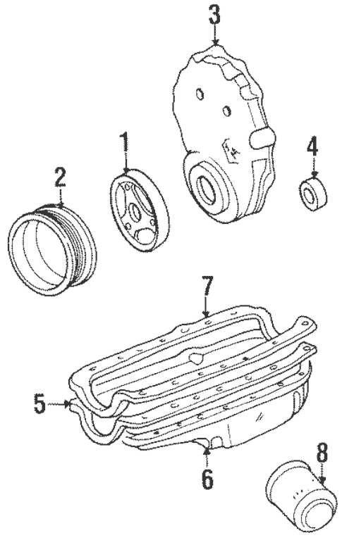 Engine Parts for 1999 Chevrolet Suburban K1500