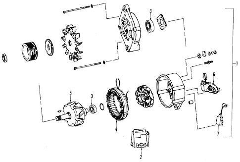 Dodge Dakota Alternators