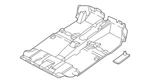2003-2004 Hyundai Santa Fe Carpet Assembly-floor 84260