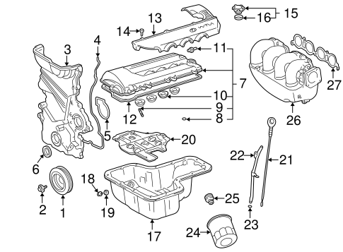 Bestseller: 2002 Toyota Celica Gt Engine Diagram