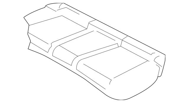 2011-2014 Dodge Avenger Cushion Cover 1US46DX9AA
