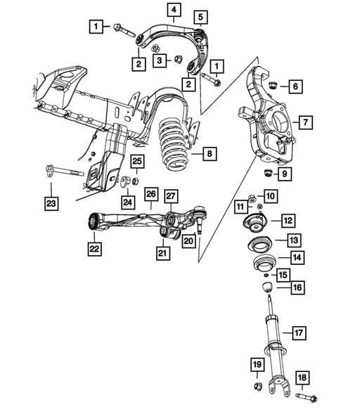 Dodge Ram Front Suspension Diagram : dodge, front, suspension, diagram, Front, Suspension, Dodge, Thomas, Parts