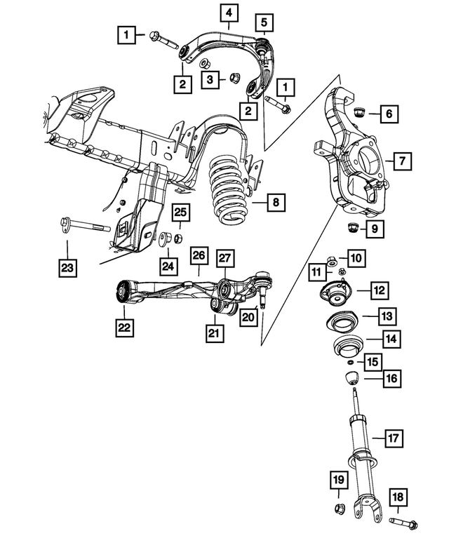 Parts & Accessories Control Arms & Parts Parts