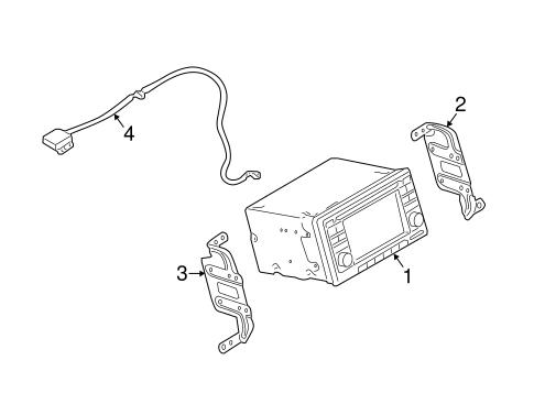 Navigation System Components for 2014 Nissan Juke