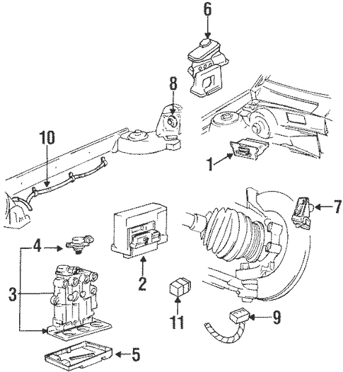 1996 Pontiac Grand Am Wiring Diagram