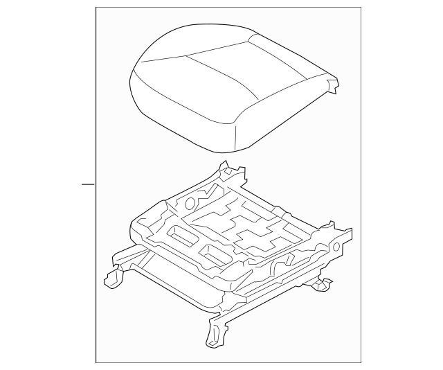 Buy this Genuine 2012-2013 Kia Sorento Cushion Assembly