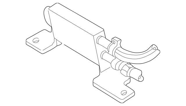 2006-2010 Ford Power Steering Cooler AL2Z-3D746-A