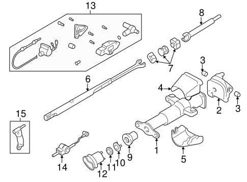 Housing & Components for 2000 Chevrolet S10