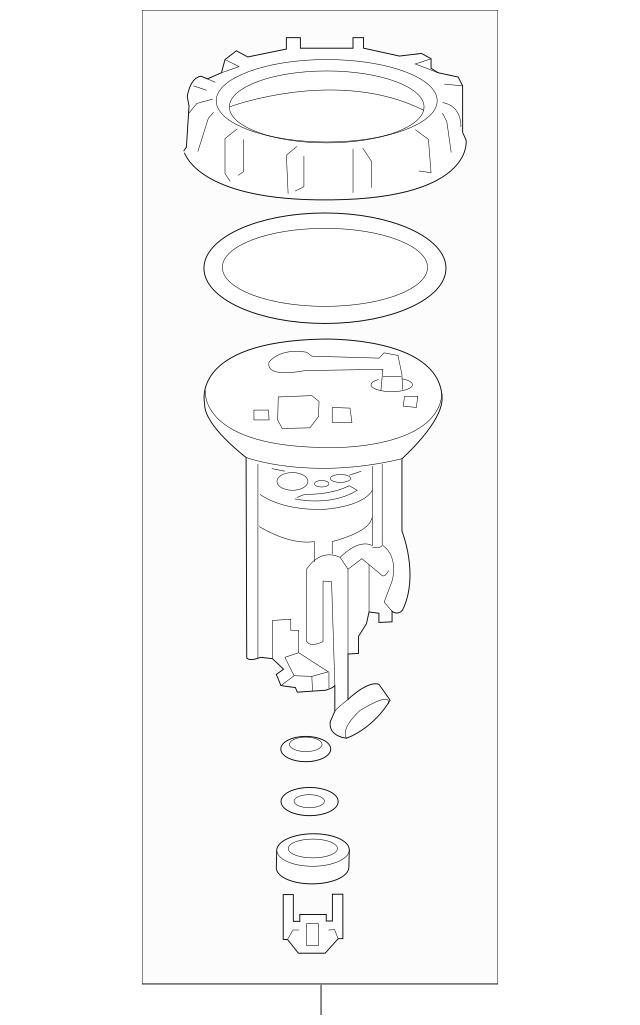2014-2017 Acura RLX SEDAN Filter Set, Fuel 17048-TY3-000