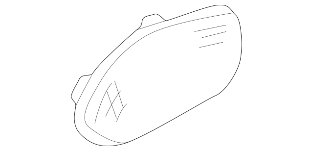 1991-2005 Acura NSX COUPE Lid, R Speaker *NH208L