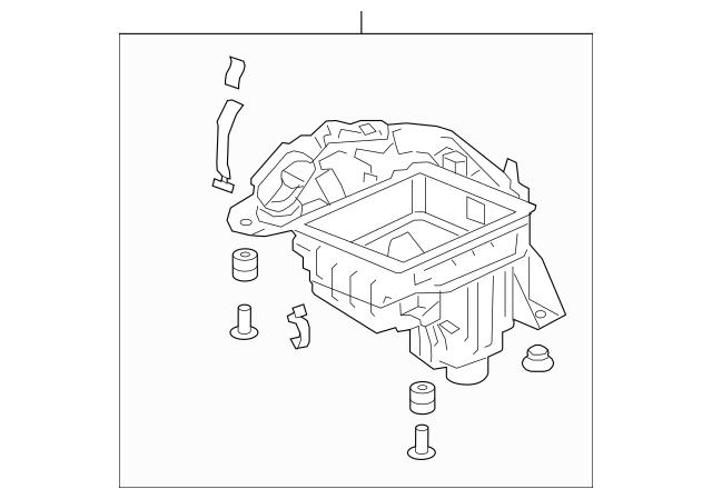 Honda Case Set, Air Cleaner (17201-6A0-A00) For Sale