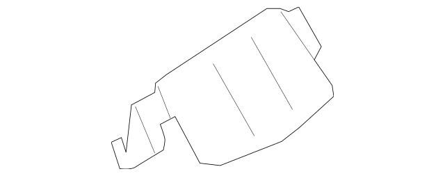 2013-2014 Lincoln MKZ Utility Box Bezel DP5Z-5404567-AB