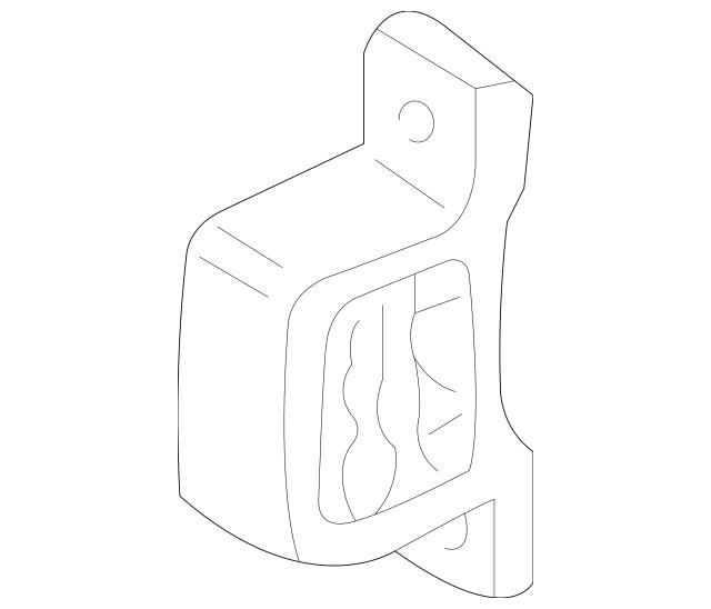 2003-2011 Honda ELEMENT 5-DOOR Stopper, Front Engine (at