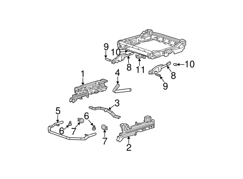 TRACKS & COMPONENTS for 2003 Chevrolet Monte Carlo