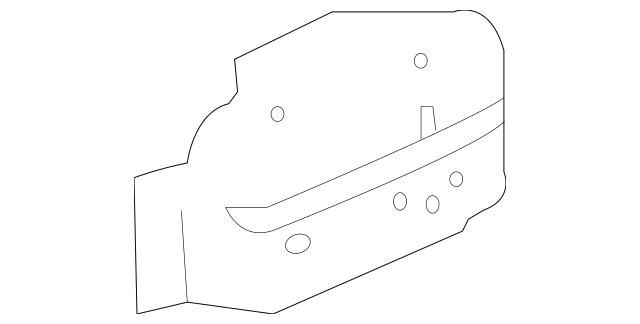 2008-2017 Buick Enclave Upper Reinforced 20759538