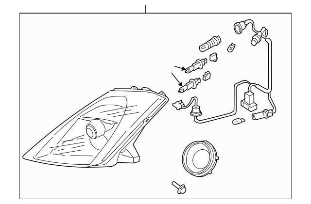 2003-2005 Nissan 350Z Composite Assembly 26010-CD026