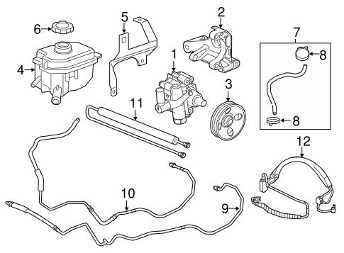 Buy OEM Power Steering Pump for 2015 Buick LaCrosse at