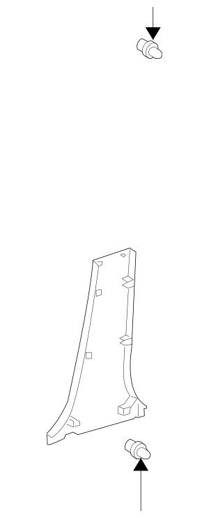 Toyota Center Pillar Trim (62414-47020-A0) For Sale