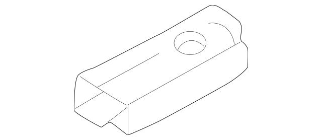 1999-2004 Honda ODYSSEY 5-DOOR Pad, L Rear 75283-S0X-A01